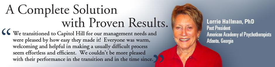 Association Management Testimonial American Academy if Psychotherapists